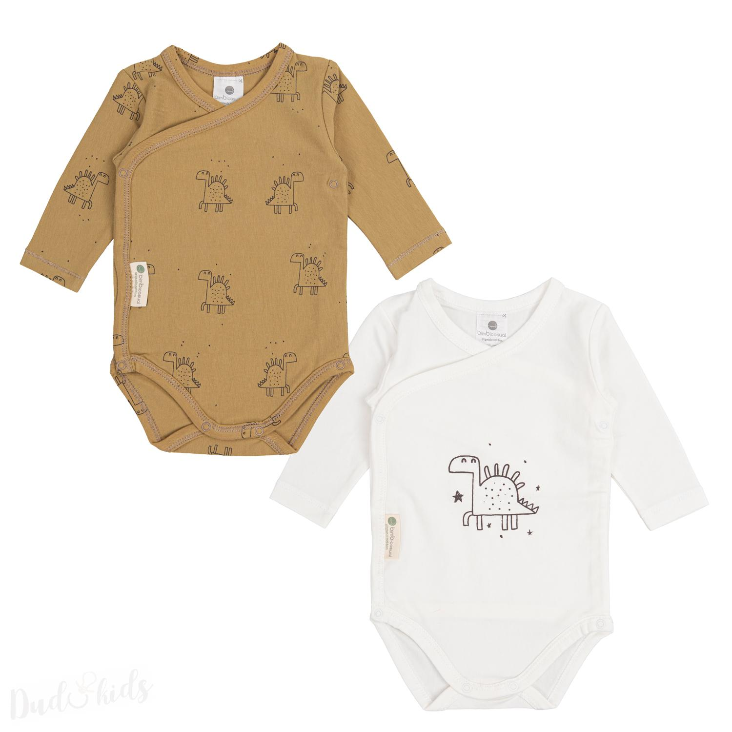 Koj.body BimBi Casual vel.0-1m set 2ks - Dino