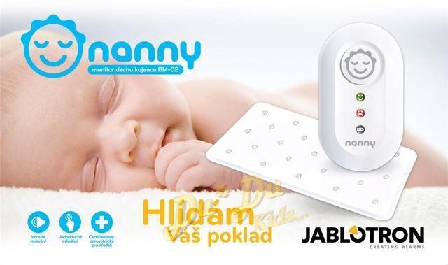 Monitor dechu - Nanny PŮJČOVNA