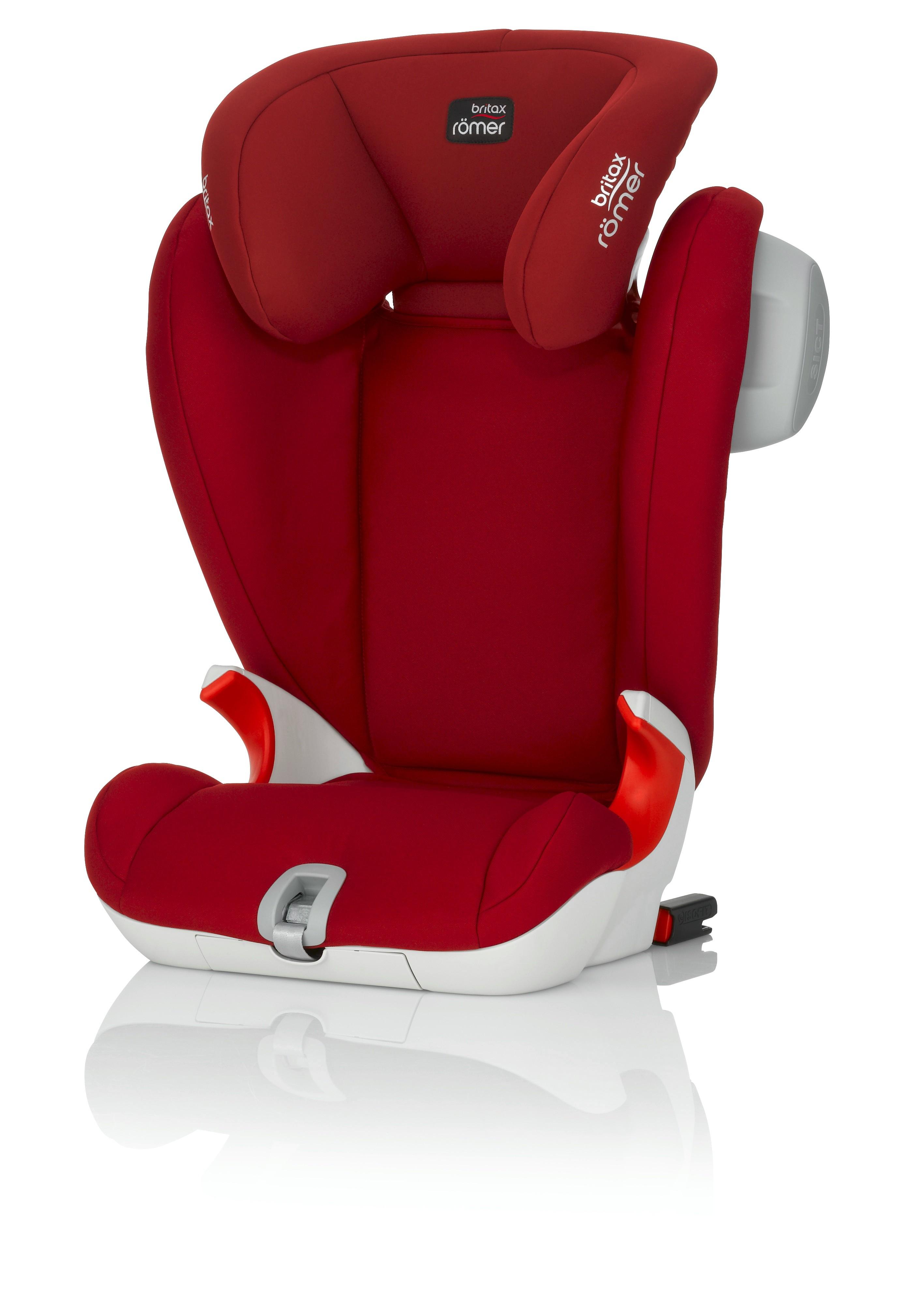 Autosedačka RÖMER KIDFIX SL SICT - Flame Red 2017