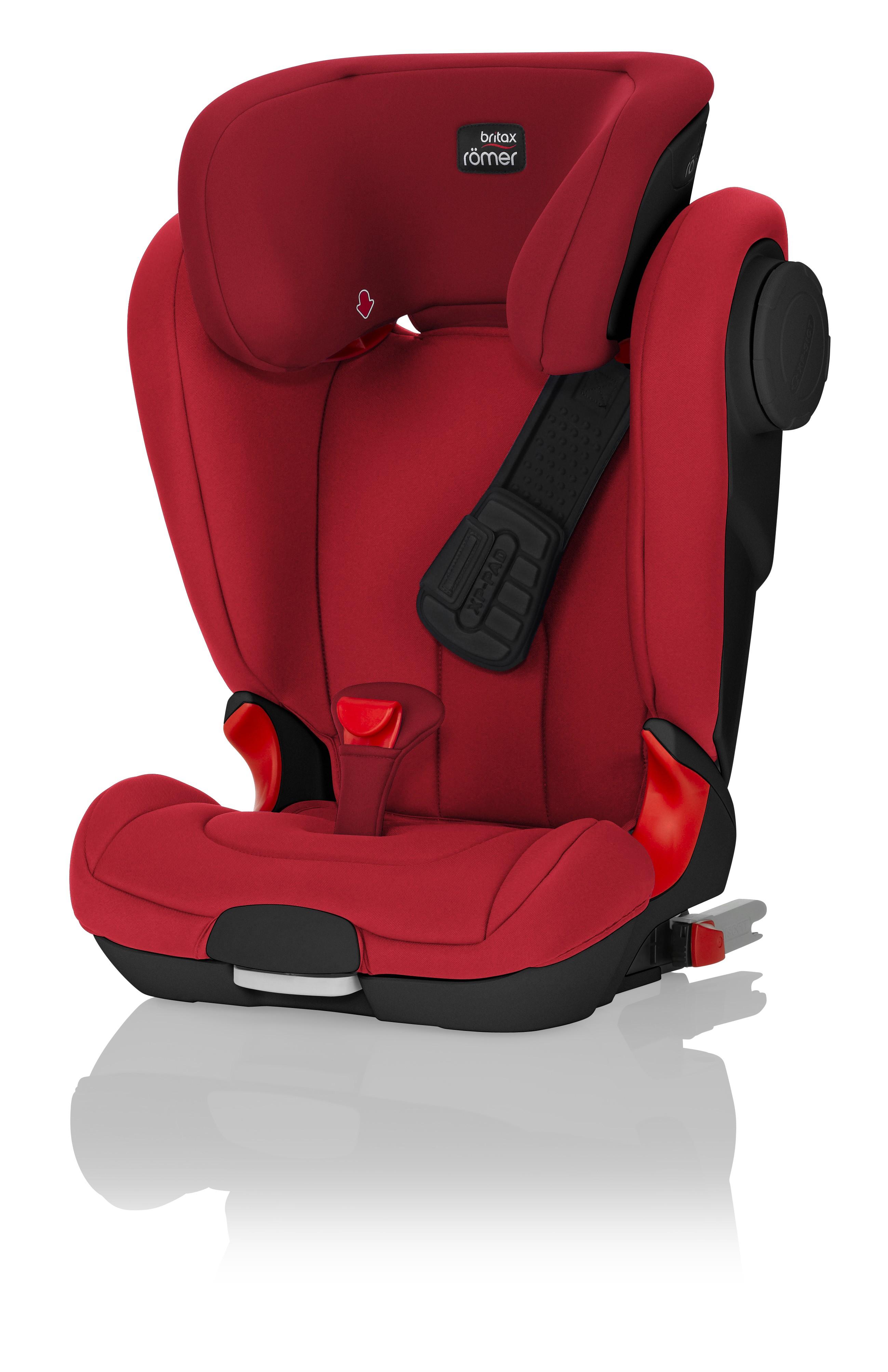 Autosedačka RÖMER Kidfix II XP Sict Black Edition - Flame Red 2017