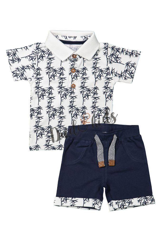 5396f515bf1 Letní chlapecký komplet - kraťásky+ tričko polo zn. Dirkje