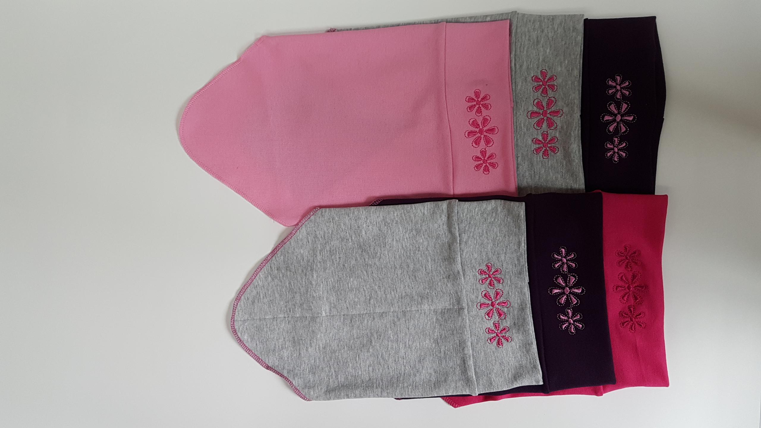 Dívčí bavlněný šátek na hlavu vel. 50-52cm (různé barvy)  12a7204d74