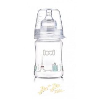 Láhev LOVI Diamond Glass 150ml - Retro Boy
