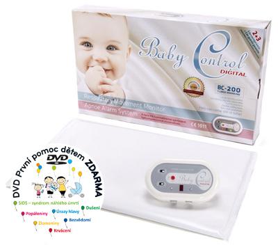 Monitor dechu - Baby Control Digital -200