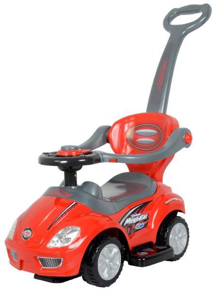 Jezdítko 3v1 Baby mix - červené