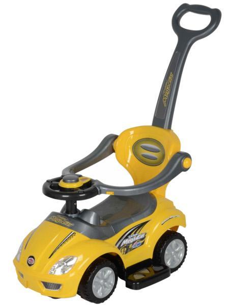 Jezdítko 3v1 Baby mix - žluté
