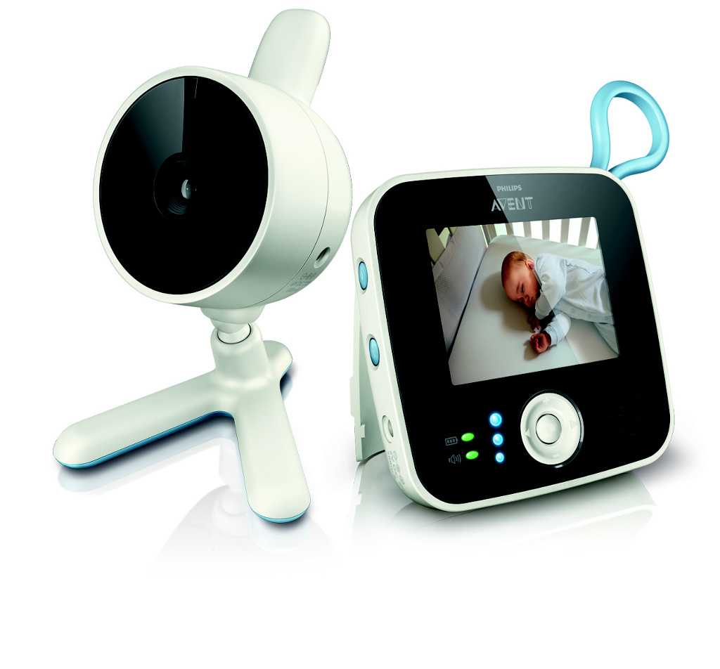 Chůvička Avent baby monitor SCD610 video