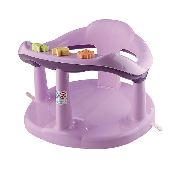 Sedátko do vany pro kojence- fialové