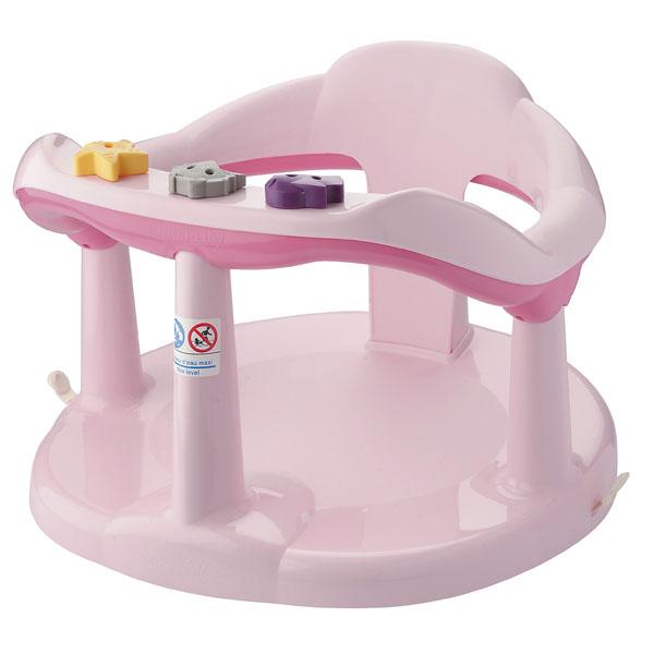 Sedátko do vany pro kojence-růžové
