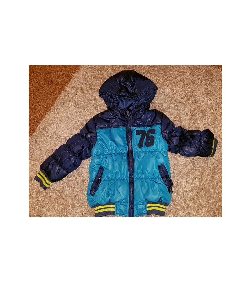 Chlapecká zimní bunda- TOP STAV vel. 104/110