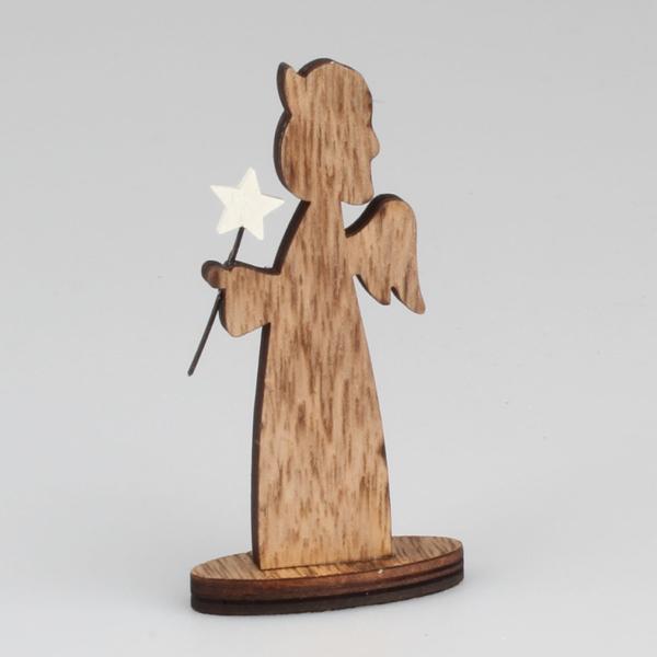 Dřevěný Andílek 10cm