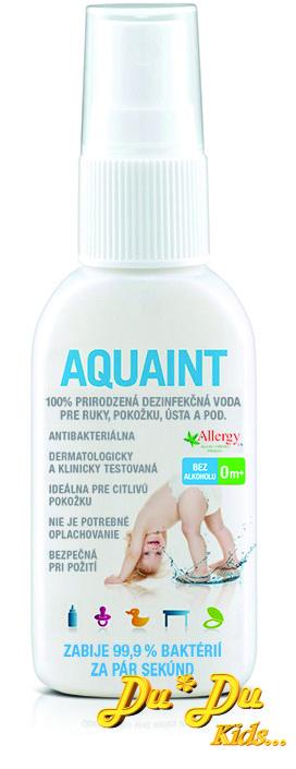 Dezinfekční voda od kojence Aquaint 50ml