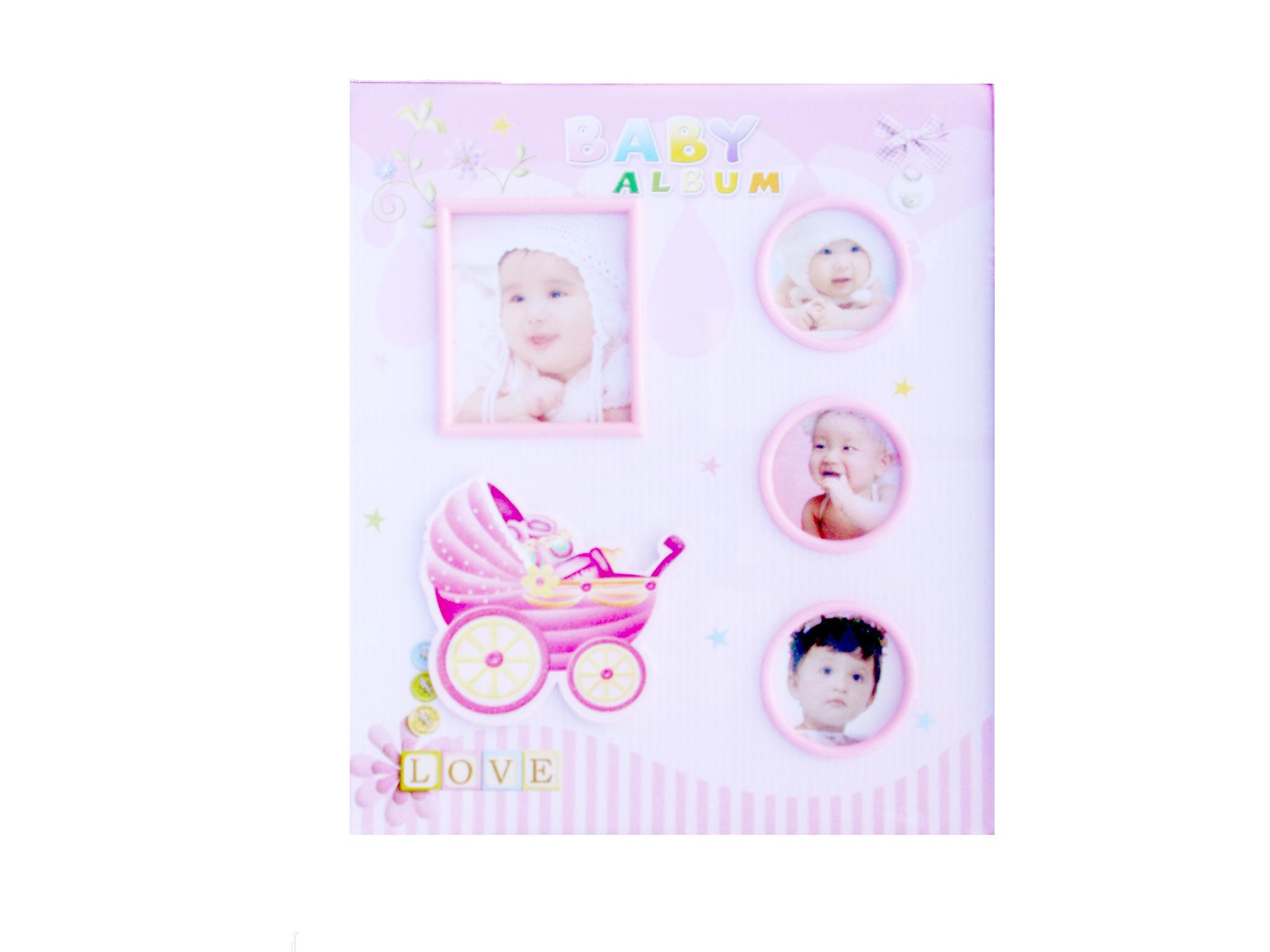 Fotoalbum 9x15cm- růžové