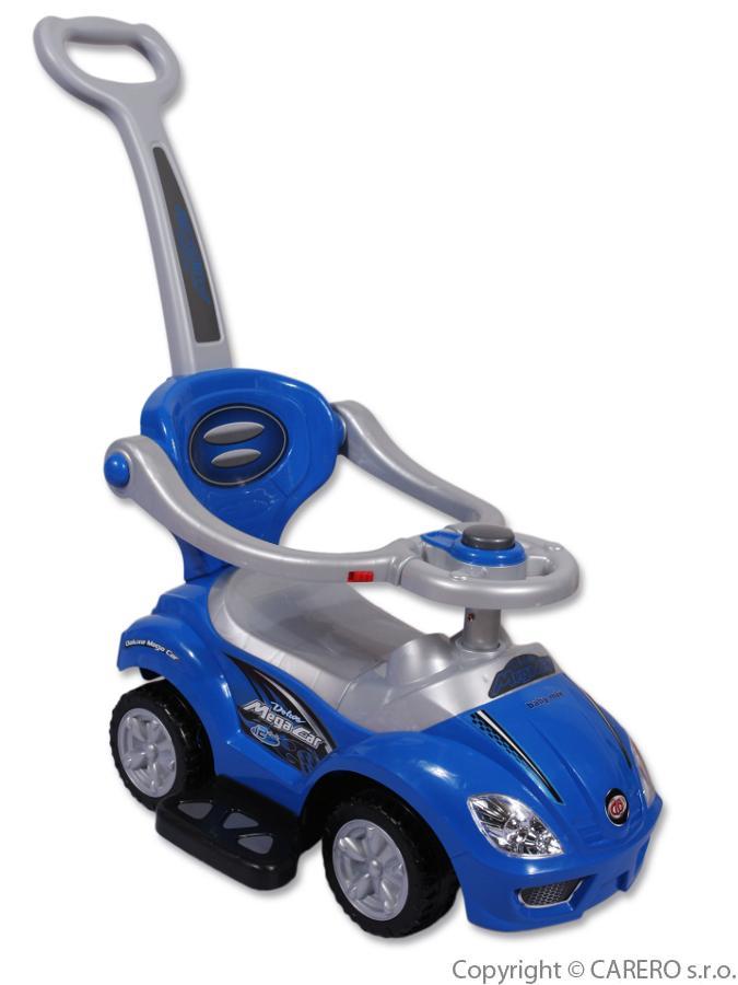 Jezdítko 3v1 modré autíčko