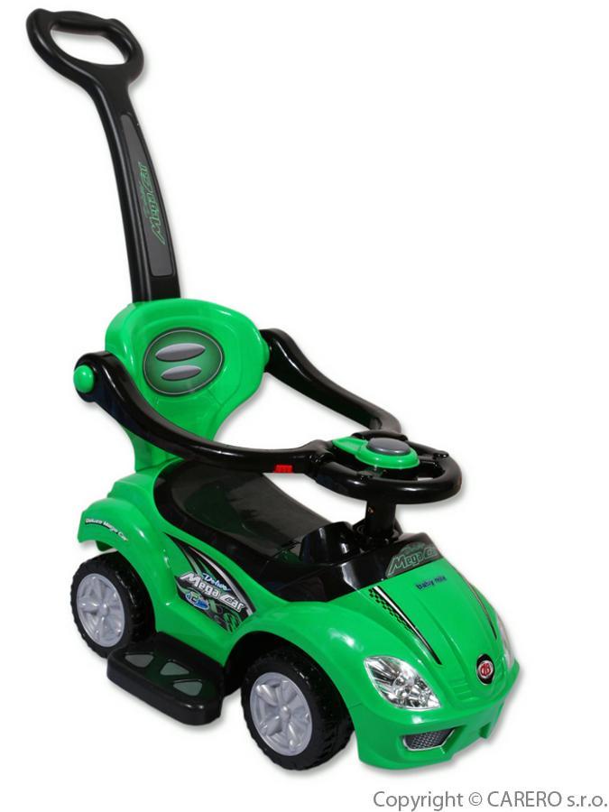 Jezdítko 3v1 zelené autíčko