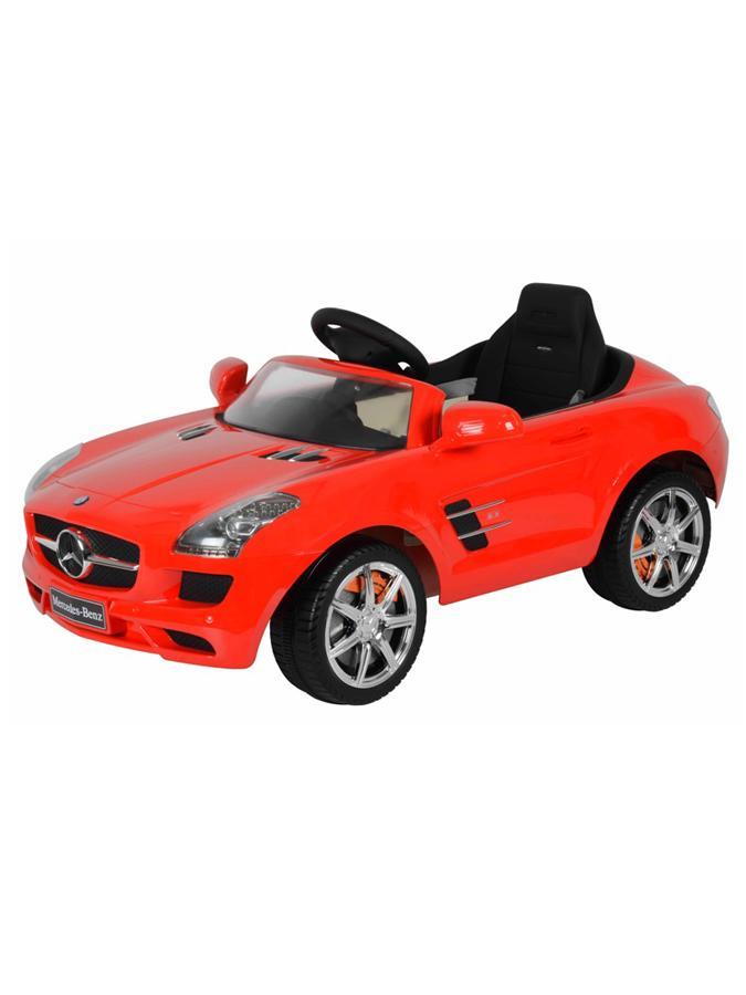 Elektrické autíčko Mercedes-Benz červené
