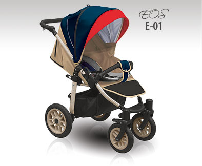 Kočárek Camarelo EOS 2015 - sportovní col 01