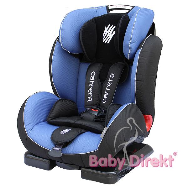Autosedačka 9-36kg ZOPA CARRERA _ barva: POLO BLUE