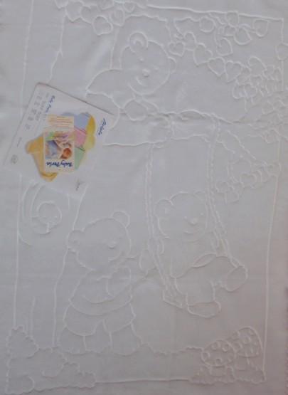 Deka španělka 80x110cm - bílá
