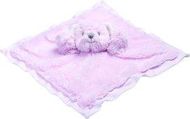 Muchláček růžový medvídek Hug a Boo 28cm