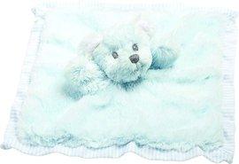 Muchláček modrý medvídek Hug a Boo 28cm
