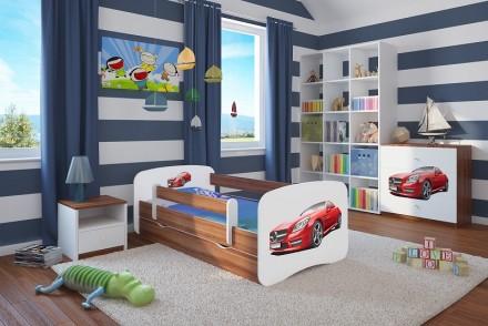Dětská postel se zábranou - Sporťák