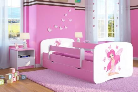 Dětská postel se zábranou - Víla