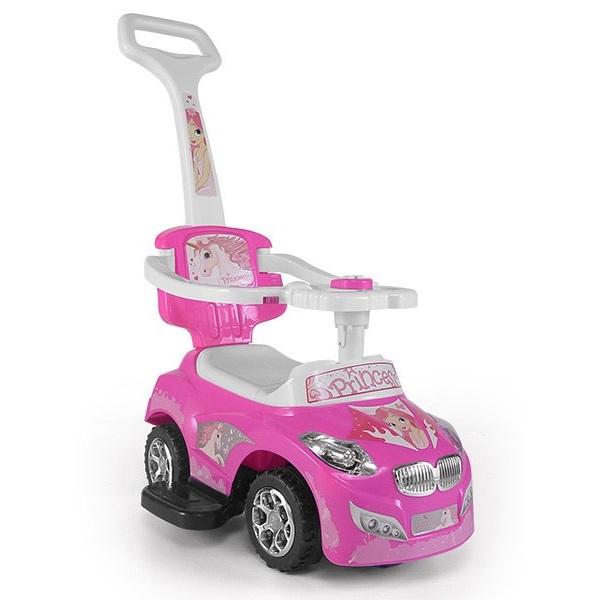 Jezdítko 3v1 Baby mix - růžové