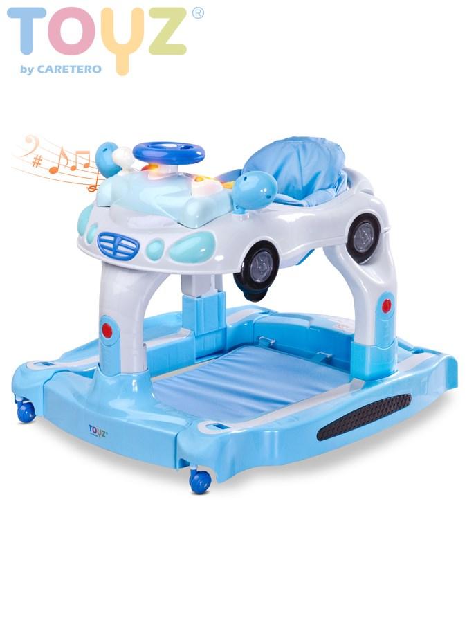 Dětské chodítko 3v1 autíčko