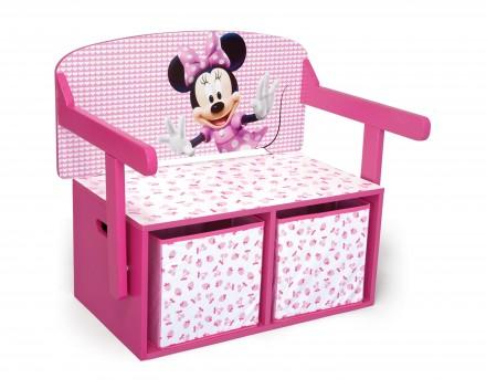 Dětská lavice s Minii a úložným prostorem