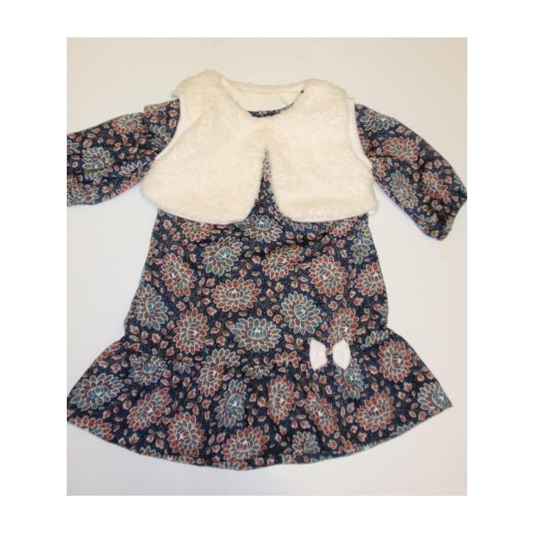 Dívčí šaty s bolérkem