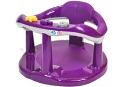 Sedátko do vany pro kojence- tmavě fialové