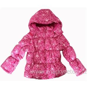 Dívčí zimní bunda- růžová vel.92