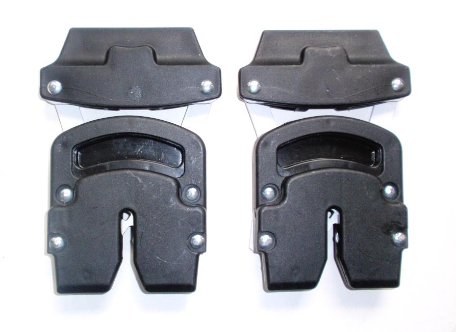 Adaptéry na autosedačku kočárku Maximo, magnetico, Excellent, Eu / Carlo - černá
