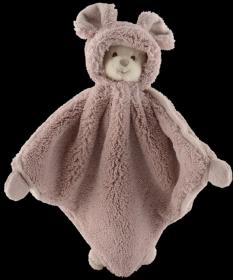 muchláček medvídek ZIGGY MIMI- růžový(30 x 30 cm)