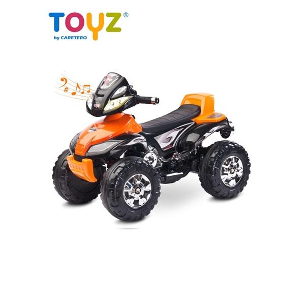 Elektrická dětská čtyřkolka Toyz Cuatro orange
