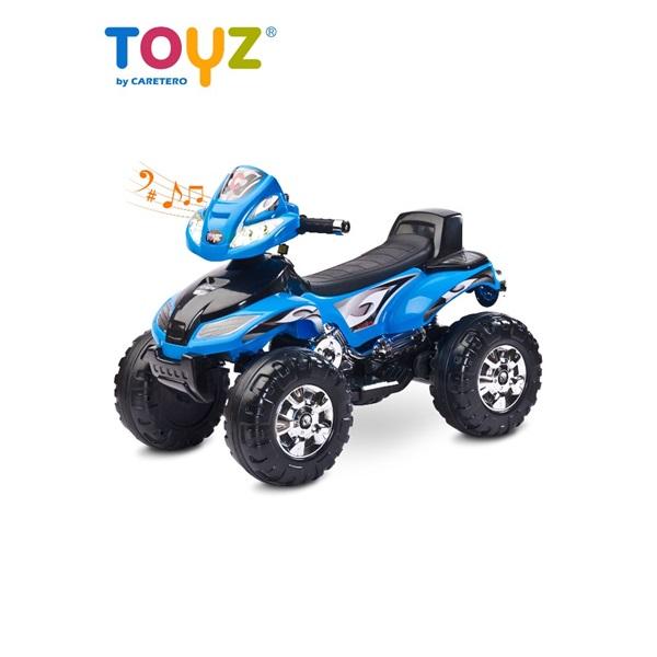 Elektrická dětská čtyřkolka Toyz Cuatro blue