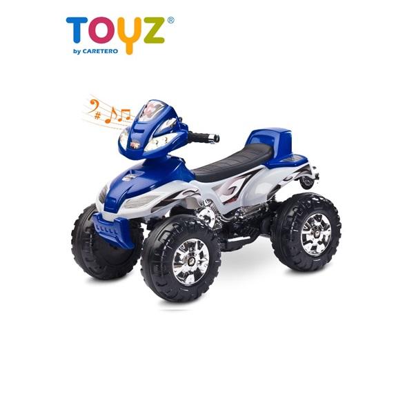 Elektrická dětská čtyřkolka Toyz Cuatro navy