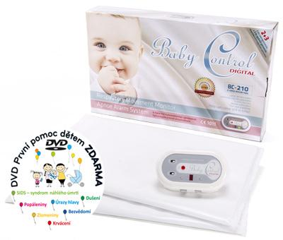 Monitor dechu - Baby Control Digital -210
