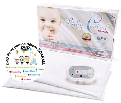 Monitor dechu - Baby Control Digital -220i - pro dvojčata
