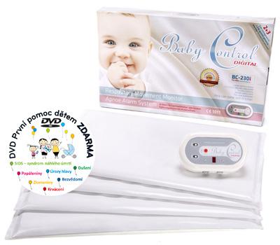 Monitor dechu - Baby Control Digital -230i - pro dvojčata
