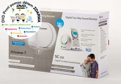 Monitor dechu - Babysense Bundle