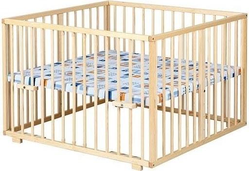 Dřevěná ohrádka 100x100 polohovací