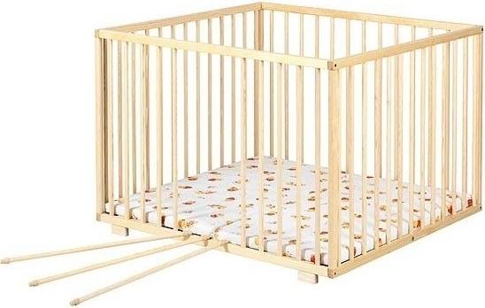 Dřevěná ohrádka 100x100 -pevná