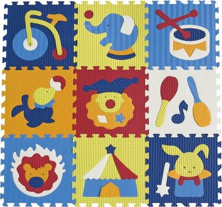 Pěnový koberec puzzle Cirkus