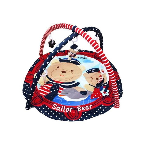 Hrací deka Medvídci námořníci