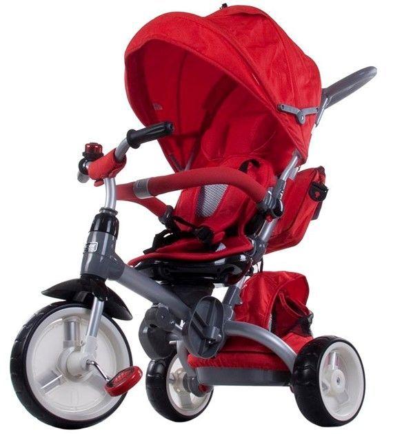 Moderní tříkolka Sun Baby Little tiger T500 červená