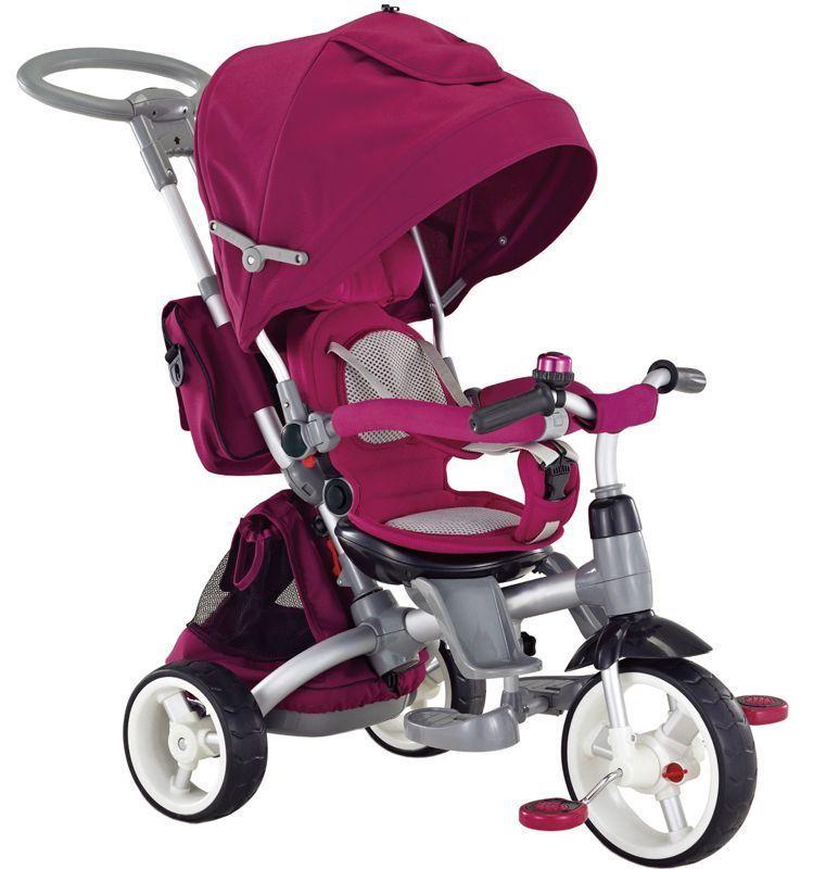 Moderní tříkolka Sun Baby Little tiger T500 fialová