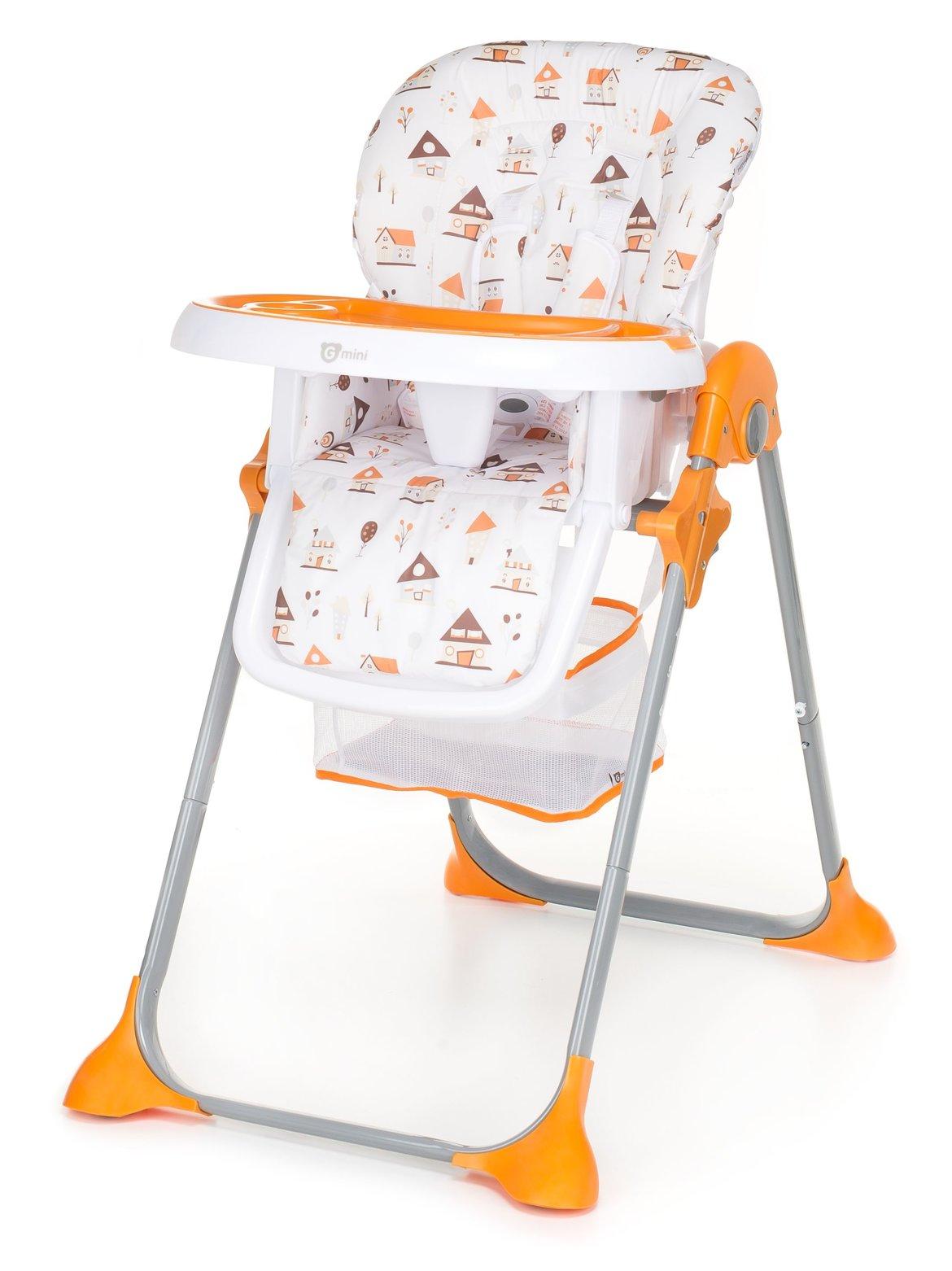 Jídelní židle G-mini Simply SHELL oranžová