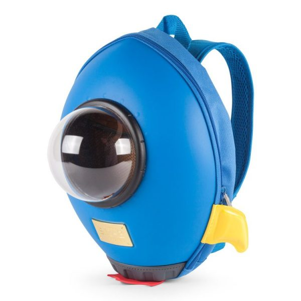 Batůžek pro děti- Raketa modrá